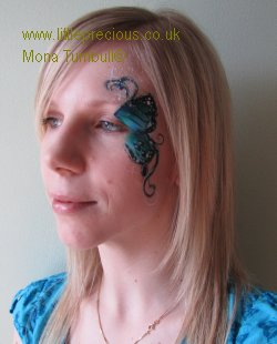 Face Painting, murals, artist,  mini makeover party, henna, bump art, glitter tattoo, bump painting, Face Painter, Body Painting and Glitter Tattoos in Oxford and Oxfordshire, Berkshire, Buckinghamshire by Mona Turnbull