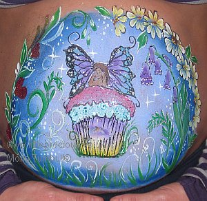 Face Painting, bump art, bump painting, Face Painter, Body Painting and Glitter Tattoos in Oxford and Oxfordshire, Berkshire, Buckinghamshire by Mona Turnbull