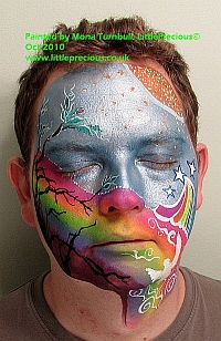 Face Painting, bump art, glitter tattoo, bump painting, Face Painter, Body Painting and Glitter Tattoos in Oxford and Oxfordshire, Berkshire, Buckinghamshire by Mona Turnbull