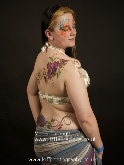 glitter tattoo mona turnbull little precious face painting